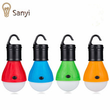 Portable Hanging Tent lamp Emergency COB LED Bulb Light Camping Lantern for Mountaineering activities Backpacking(China)