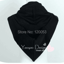 Unisex Hooded Scarves, Hooded Neck Warmers, Hooded Pullerover, For Fall and Winter, 5 Colors Choice