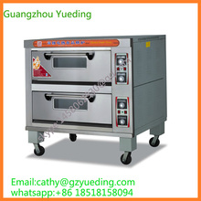 Bakery Equipment OEM avaiable stainless steel 2 deck 4 tray electric commercial bakery oven(China)