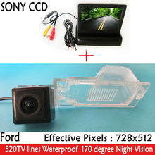 "CCD HD Parking With 4.3"" Car Rearview  Foldable Mirror Monitor ,backup Car Rear View Camera for Ford Edge Escape Mercury Mariner"