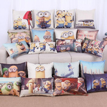 Super Hot Cartoon Minion Child Bed Cushion With No Core Home Decor Emoticon Sofa Throw Pillow For Chair Emoji Funda Cojin
