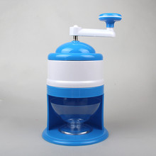 Handhold mini Manual Ice Crusher Shaver Machine Grinding Snow Cone Maker Machine Household Party DIY Ice Cream Candy Frappe(China)