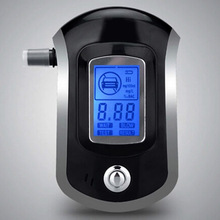 Portable Alcohol Tester With Digital Display Breathalyzer Analyzer For For AT6000 Smart Breath Alcohol Detector Gadget T(China)