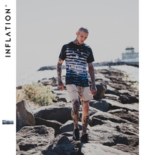 INFLATION 2017 Latest t shirts Men Tie Dye Shirts For Sale  Round Collar Short Sleeve T-shirt Streetwear t shirts