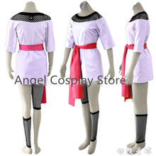 Free DHL Shipping NEW Naruto Temari Party Fashion Hallowmas Clothing Cosplay Costume Unfiorm Dress Skirt Full Set Any Size