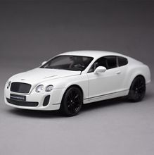 Bentley Continental GT speed welly 1:24 Original Alloy car models Fast and Furious Sports supercar Matte black Luxury cars