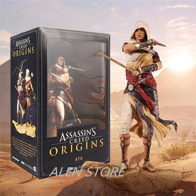ALEN Game assassins creed Origins Character AYA PVC Figure Toys 25cm<br>