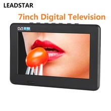 LEADSTAR 7 pollice DVB-T2 Digitale Televisione Analogica TV 800x480 Ad Alta Risoluzione di Sostegno TF Card USB Audio(China)