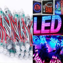 12mm WS2811 Full Color Pixel LED Module Light Outdoor Waterproof IP68 12V Advertisement Design LED Pixel Light(China)