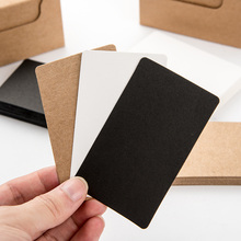 20 pcs/lot Cute Black White Kraft Paper Memo Pad Note Pads Card Creative Stationery school supplies gift Free shipping  808