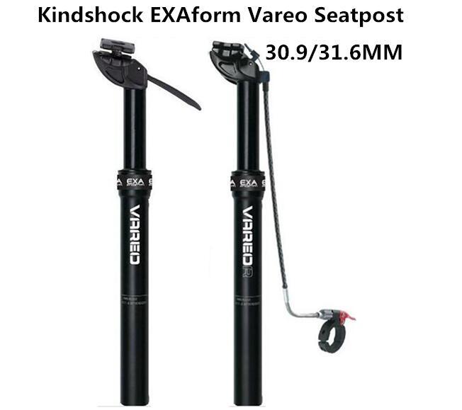 KS KindShock EXAFORM Vareo remote mountain bike hydraulic seatpost 30.9/31.6mmX385mm wire switch adjustment seat post beyond DNM<br><br>Aliexpress