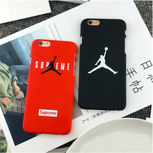 Fashion Brand Flyman Michael Jordan Fundas Coque for iPhone 5 5S 6 6S 7 Plus 4.7 5.5 inch Phone Cases Mate Hard Back Covers case