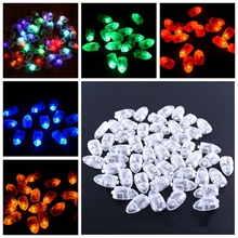 10 Pcs LED Balloon Glow Flash Light Mini Ball Lamp for Paper Lantern Christmas Wedding Birthday Party Decoration Light