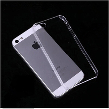 For iPhone 5S Soft Clear Cases 0.33MM Super Slim TPU Gel Silicon Phone Case For iPhone 5 5S 5G Ultra Thin Transparent Cover Bags