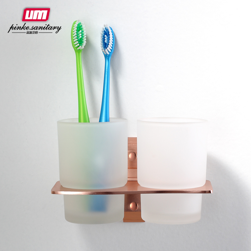 2014 Gift Box Chocolate Army Sky Embedded Direct Selling Bathroom Accessories Bathroom Set Tumbler Toothbrush Champagne Color<br><br>Aliexpress