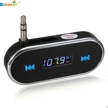 MP3 Player car-styling NEW Hot Practical Car Kit Wireless FM Transmitter USB SD LCD Remote Handsfree gift TOP QUALITY DEC23