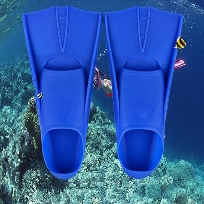 New Bule White Yellow Scuba Snorkeling Silicone Swimming Diving Flippers Frog Shoes Fins Adult Kids Diving Free Shipping<br><br>Aliexpress