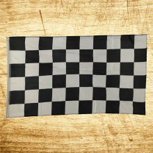3X5 FT New NASCAR BW Black White CHECKERED CHECKER RACING BANNER FLAG