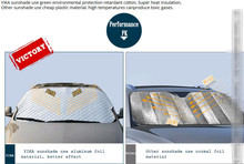 Car Covers Sunshade Accessories for audi a1 seat exeo citroen c5 ford fiesta peugeot 306 volkswagen golf mustang Car styling(China)