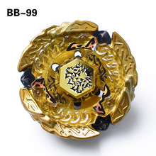 Beyblade Metal Fusion 4D Set BEYBLADE METAL FUSION GOLD HELL HADES KERBECS BD145DS+Launcher Children Gift Kids Toys BB99 S56(China)