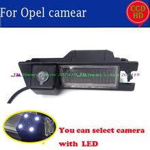 wireless wire LED Night vision Car Rear Reverse CAMERA for SONY CCD OPEL Astra H/Corsa D/Meriva A/Vectra C/Zafira B,FIAT Grande(China)