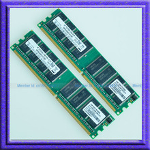 Kit 2GB 2x1GB PC2700 DDR333 333MHz 184Pin DIMM Desktop Low Density MEMORY Module 2G RAM Well TEST