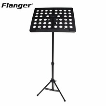 Flanger FL-05R Aluminum Alloy Folding Music Stand Tripod Stand Holder Sheet With Soft Case + Carrying Bag Musical Instruments(China)