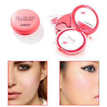 New Brand Makeup Easy to Wear Pigments Face Blusher Palette Waterproof Natural Red Cheek Color Makeup Blush Powder Cosmetics