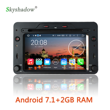 Android 7.1 2G RAM 16G ROM car multimedia DVD player Radio BT OBD DVR camera TV For Alfa Romeo Spider 159 Brera 159 Sportwagon