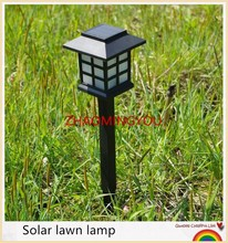 YOU 4PCS Hot Waterproof Cottage Style LED Solar Garden Light Outdoor Garden Path Lawn Post Lamps Decoration Landscape Lighting