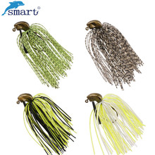5Pcs Mixed Colour Silicone Jig Head Skirt Beard Fishing Lures Fly Rubber Swim Bass Hook Bait Isca Artificial Para Pesca Leurres