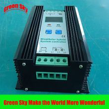 Green Sky Technology Supply Intelligent LCD Display 12V mppt wind charge controller 400w