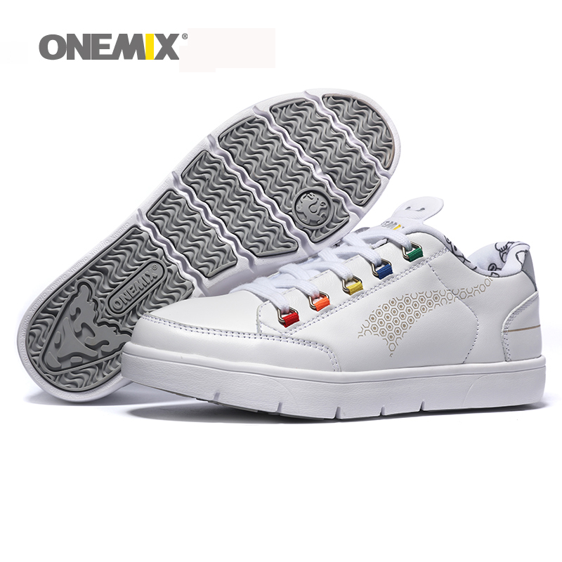 1108 Onemix brand wholesale men board shoes top layer cowhide skateboarding Shoe girls free run arena shoes sport shoes<br><br>Aliexpress