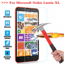 Screen Protector Film 0.3mm 9H 25D Front Premium Tempered Glass For Nokia Microsoft Lumia XL Dual SIM RM-1030 RM-1042 RM 1030