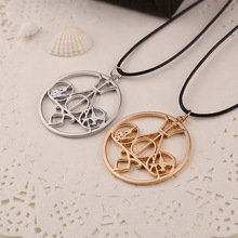 Fashion Necklace With Mortal Instruments Movies Diverge Percy Jackson Hunger Games Divergence Necklace(China)