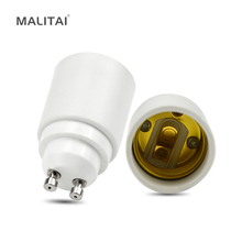 1Pcs GU10 to E27 Fireproof Material lamp Holder Converters Socket Conversion Adapter light Base Type Bulb