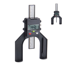 Digital Depth Gauge 80mm With Magnetic Feet LCD Height Gauges Calipers For Router Tables Woodworking Measuring Tools