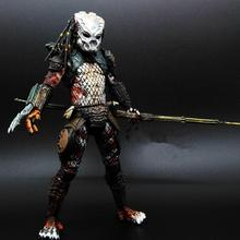 Alien vs Predator toy Mixed human AVP ABS 20cm Model Collectie kids MOVIE Brinquedos Series Scar Sci-Fi Film Lone wolf(China)