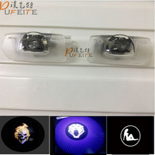 2x Car Door Ghost Shadow Welcome Logo Projector Light For Lexus Emblem RX300 RX330 RX350 IS250 IS200 IS300 LS460 LX570 LX470