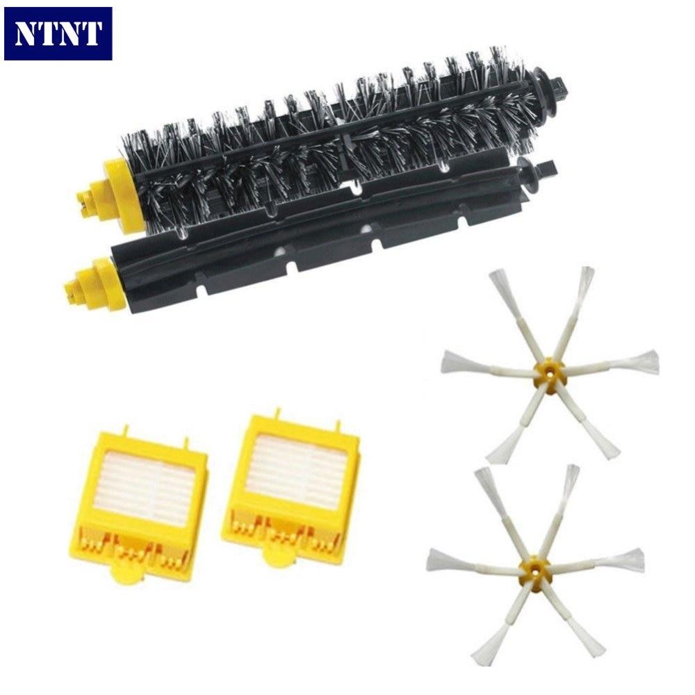 NTNT Free Post New Brush &amp; Filter &amp; 6 armed Side Brush Kit For iRobot Roomba 700 Series 760 770 780<br><br>Aliexpress