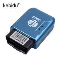 TK2 OBD2 OBDII GPS GPRS Real Time Tracker Car Vehicle Tracking System With Geofence protect Vibration Cell Phone SMS alarm alert(China)