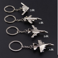 Creative Keychain  Metal Naval Fighter Aircraft model Aviation Gifts Key ring Model Key chain Air Plane Aircrafe Key chain XX11