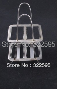 free shipping stainless steel microscope slide staining stand 26PCS IN<br>