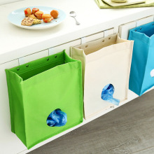 Multipurpose Cupboard Door Back Hanging Type Sundries Bag Linen Kitchen Hanging Bag(China)