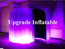 new led inflatable igloo photo booth tent for advertising