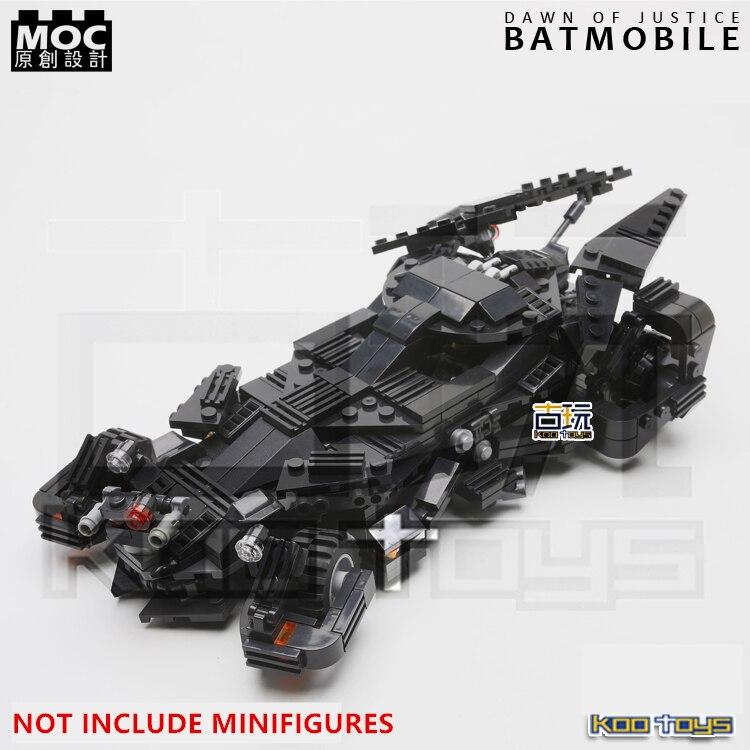MOC 2016s Batmobile BatCar Tumbler The Batman vs Super Man Dawn of Justice SUPER HEROES minifig Building Blocks Kids Toys<br>