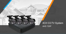 2/3/4 Channel CCTV system 4CH Mini DVR For CCTV Kit 720P IR Bullet Outdoor Waterproof AHD Camera Security System By Express