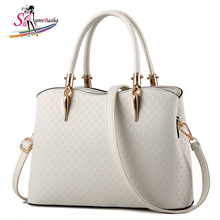 Buy Women's Handbag 2017 New Women's Handbags Women's Stereotypes Totes Sweet Ladies Pu Leather Messenger Bag Girls Shoulder Bag for $21.02 in AliExpress store
