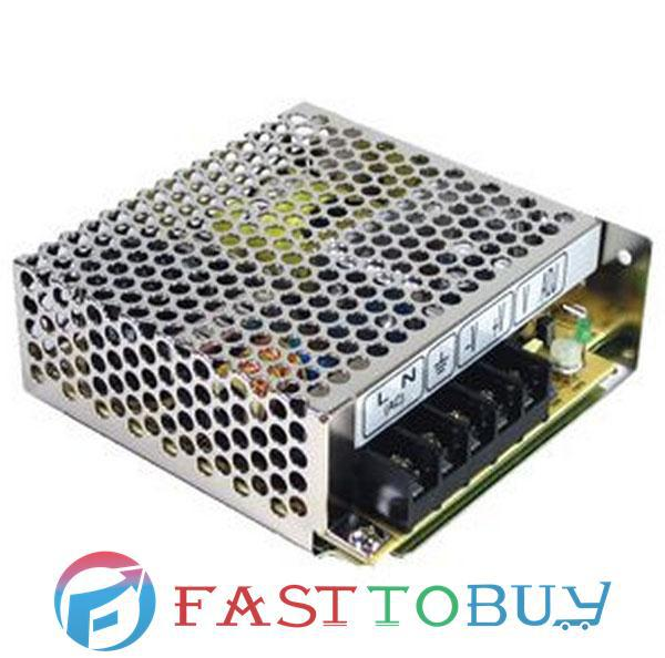 RID-50B MEAN WELL 50W +5V6A +24V2A Dual Isolation Output Switching Power Supply New<br>