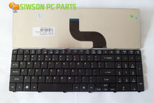 OEM US Layout Keyboard Replacement for Acer Aspire 7740G 7740 7741 7741G 7741Z 7741ZG